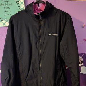 Thick Columbia full zip jacket
